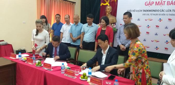 Taekwondo Việt Nam có nhiều nhà tài trợ khủng