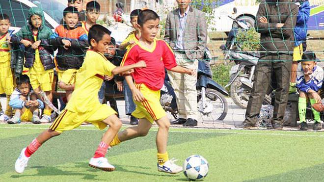 SLNA lần đầu tiên tuyển tài năng bóng đá trẻ trên cả nước