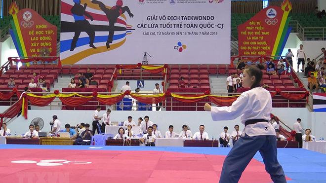 Giải VĐ Taekwondo các lứa tuổi trẻ toàn quốc 2020 bị ảnh hưởng vì Covid-19