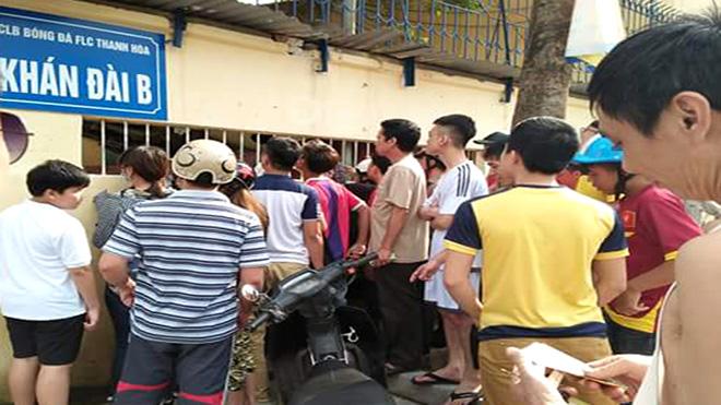 Sốt vé trận FLC Thanh Hóa – Hải Phòng