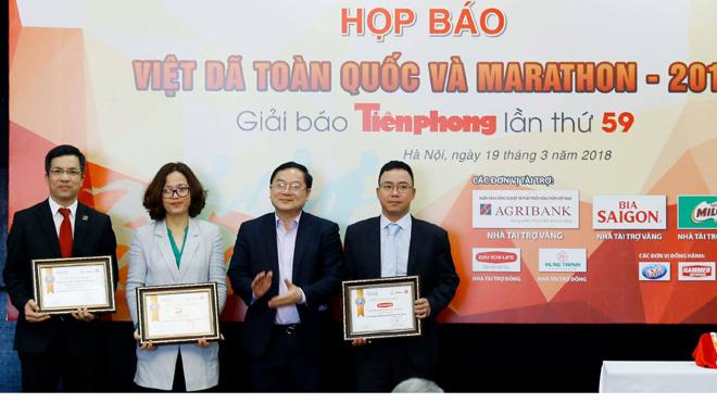Giải Việt dã báo Tiền phong lần đầu tiên dùng hệ thống tính điểm điện tử