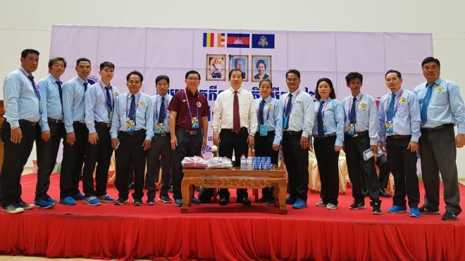 Vovinam thành môn thi chính thức của  Đại hội TDTT Campuchia