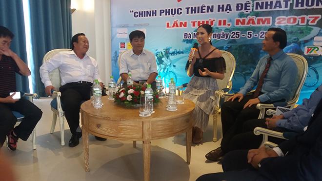 Hoa hậu Ngọc Hân cùng 'chinh phục' Thiên hạ đệ nhất hùng quan