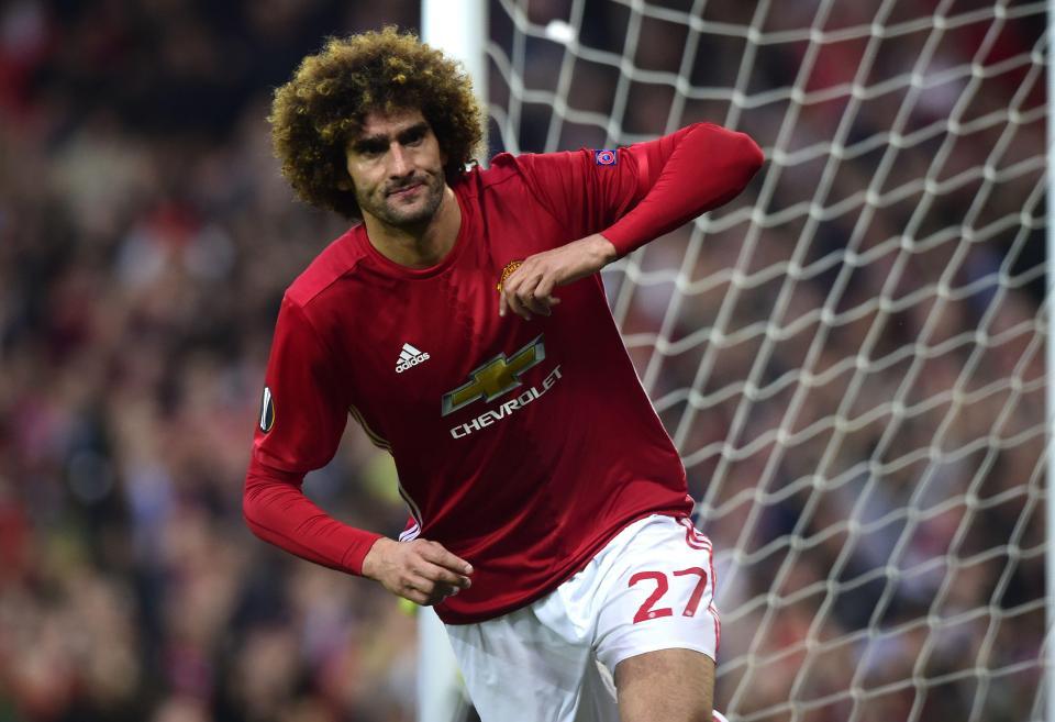 Fellaini Manchester United 1-1 Celta Vigo
