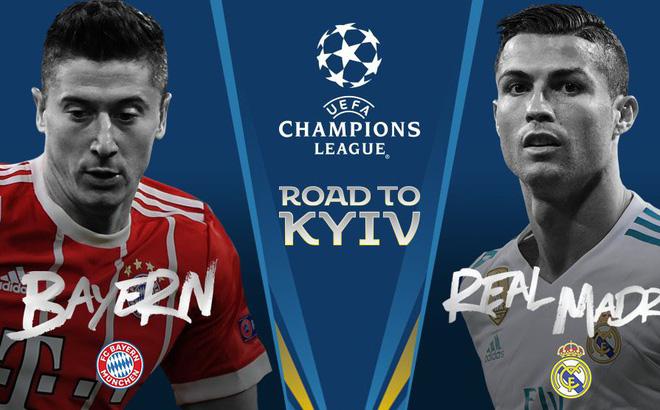 Dự đoán có thưởng bán kết lượt đi Champions League: Trận Bayern Munich – Real Madrid