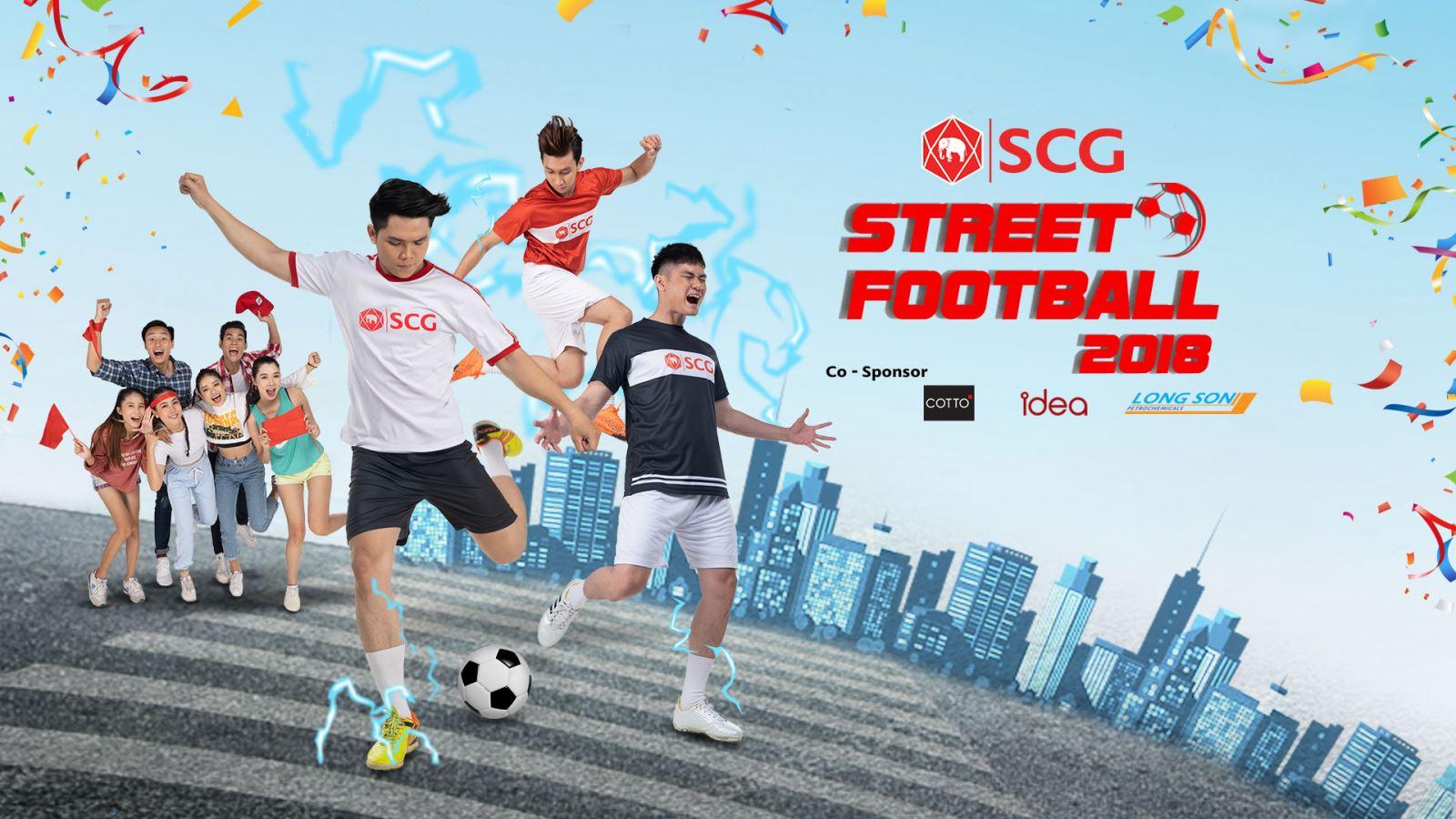 Khởi tranh giải bóng đá đường phố SCG Street Football 2018