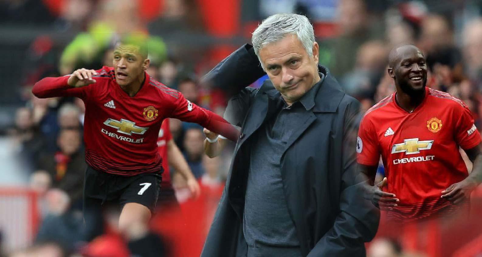 M.U: Mourinho sẽ đánh thức Sanchez và Lukaku bằng 4-4-2?