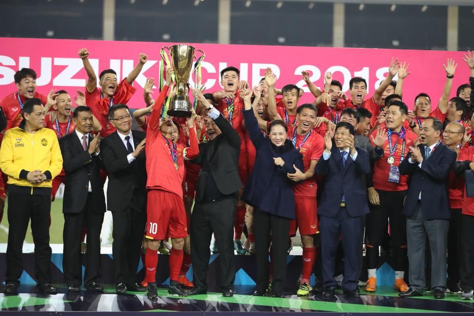 CẬP NHẬT: Vô địch AFF Cup, đội tuyển Việt Nam được thưởng lớn