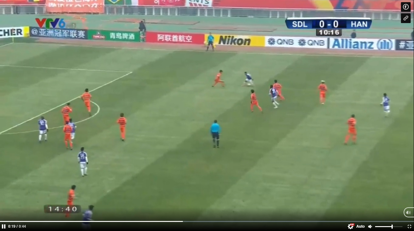 VIDEO: Pha phối hợp như 'đá ma' của Hà Nội FC. Trực tiếp bóng đá hôm nay