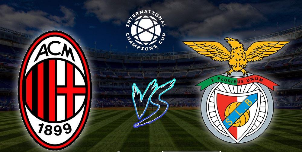 TRỰC TIẾP BÓNG ĐÁ: Milan vs Benfica (02h06 ngày 29/7). Trực tiếp ICC 2019