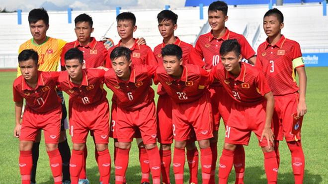 Trực tiếp bóng đá U15Việt Nam vs U15 Philippines (18h00 ngày 29/7)