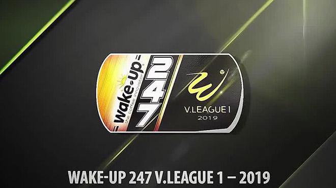 Bảng xếp hạng V League 2019 - Vòng 18