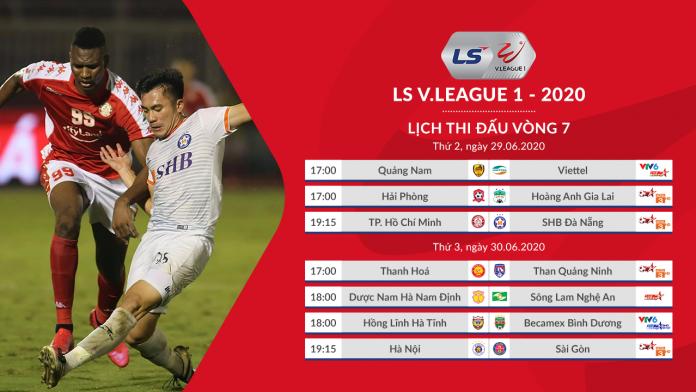 Lịch thi đấu V-League. Lịch thi đấu Bóng đá Việt Nam. Hải Phòng vs HAGL. TPHCM vs Đà Nẵng