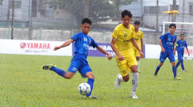 Khởi động giải U13 Yamaha Cup 2019: Hấp dẫn từ vòng bảng đầu tiên tại An Giang