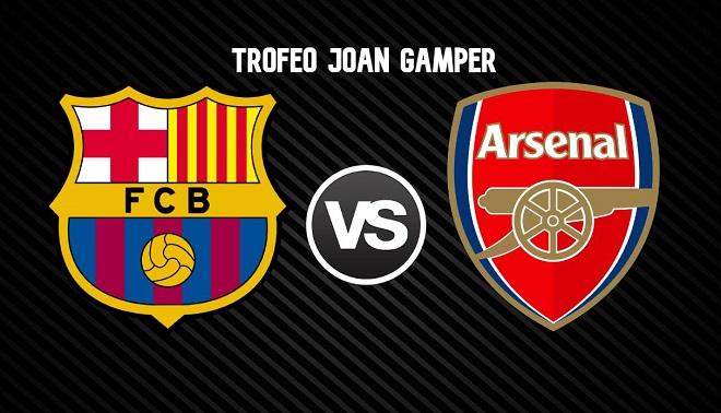 Xem trực tiếp bóng đá: Barca đấu với Arsenal (1h00 hôm nay), cúp Joan Camper