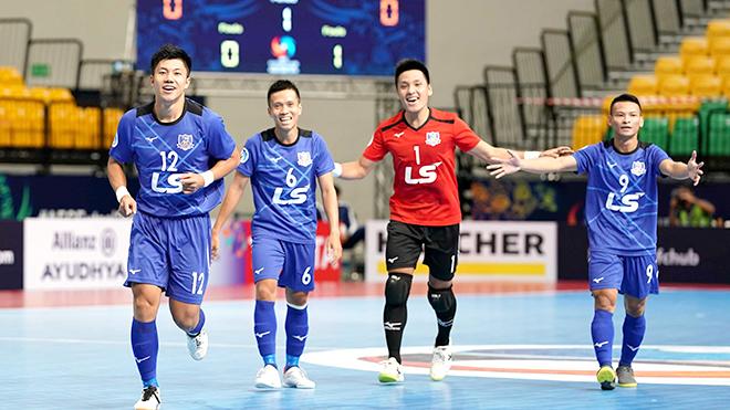 Trực tiếp bóng đá futsal: Thái Sơn Nam vs Shenzhen (17h00 hôm nay), futsal Châu Á