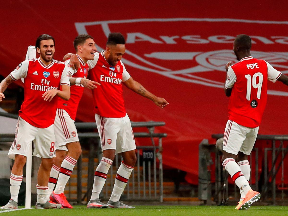 Video clip bàn thắng trận Arsenal vs Dundalk