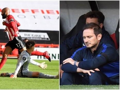 Video clip bàn thắng Sheffield 3-0 Chelsea: The Blues sắp bị MU hất văng khỏi top 4