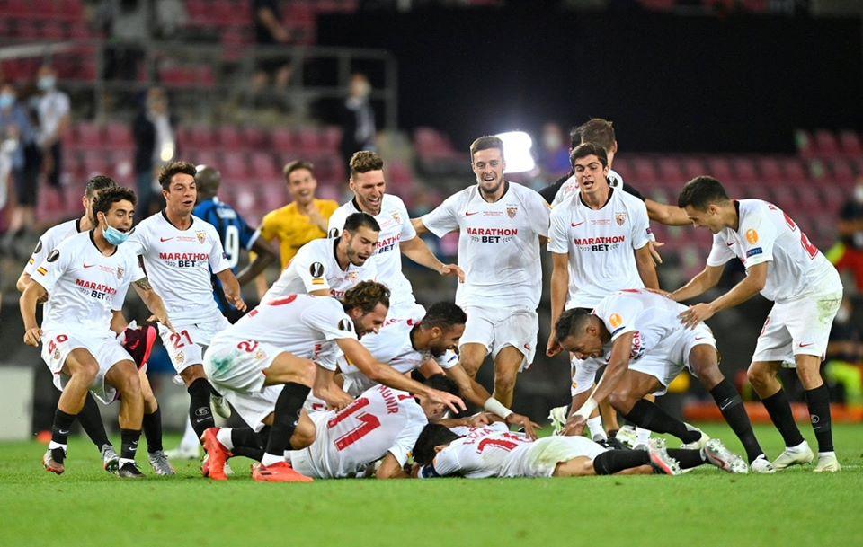 Kết quả bóng đá chung kết cúp C2/Europa League: Sevilla 3-2 Inter Milan