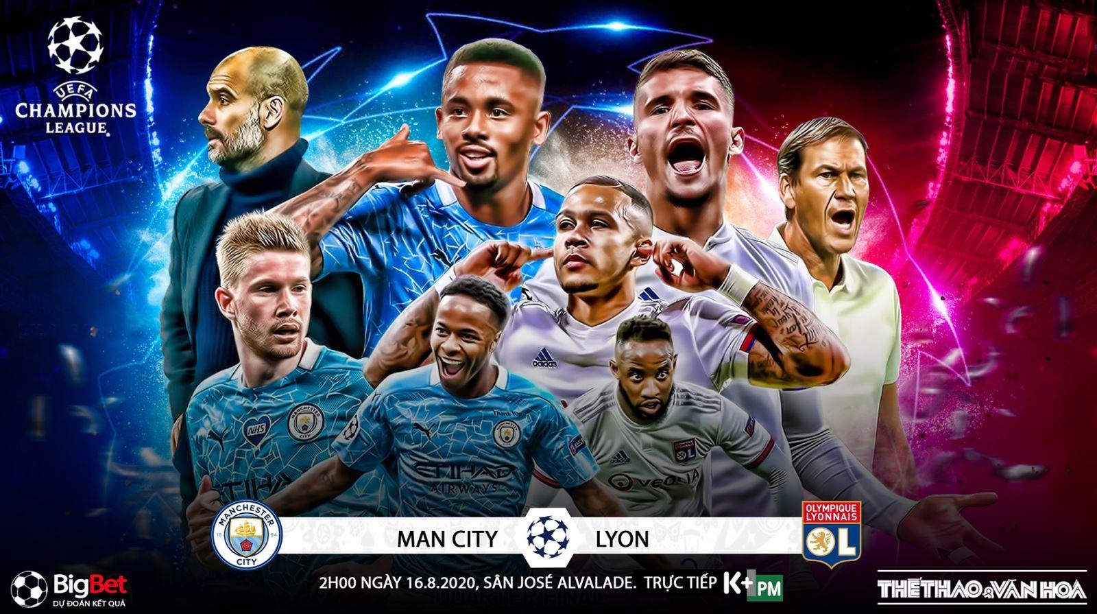 Kết quả bóng đá, Man City vs Lyon, Kết quả tứ kết cúp C1 châu Âu, Kết quả Man City đấu với Lyon, Kết quả Man City vs Lyon, lịch thi đấu bán kết Champions League