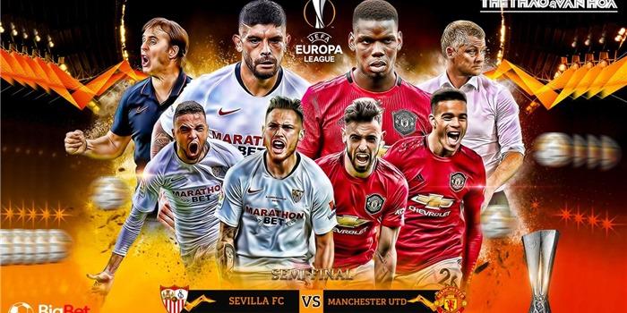 Lịch thi đấu cúp C2, Lịch thi đấu bán kết Europa League, Sevilla vs MU, Inter vs Shakhtar, lịch thi đấu bán kết cúp C2, lịch thi đấu MU, trực tiếp bóng đá, trực tiếp C2