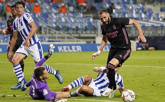 Video clip highlights trận Real Sociedad vs Real Madrid
