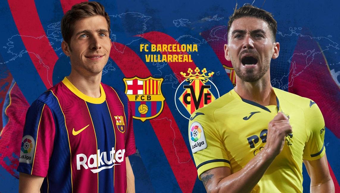 Xem trực tiếp bóng đá. Barcelona vs Villarreal.Xem trực tiếp bóng đá Tây Ban Nha