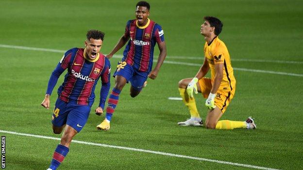 Video clip bàn thắng trận Barcelona vs Cadiz