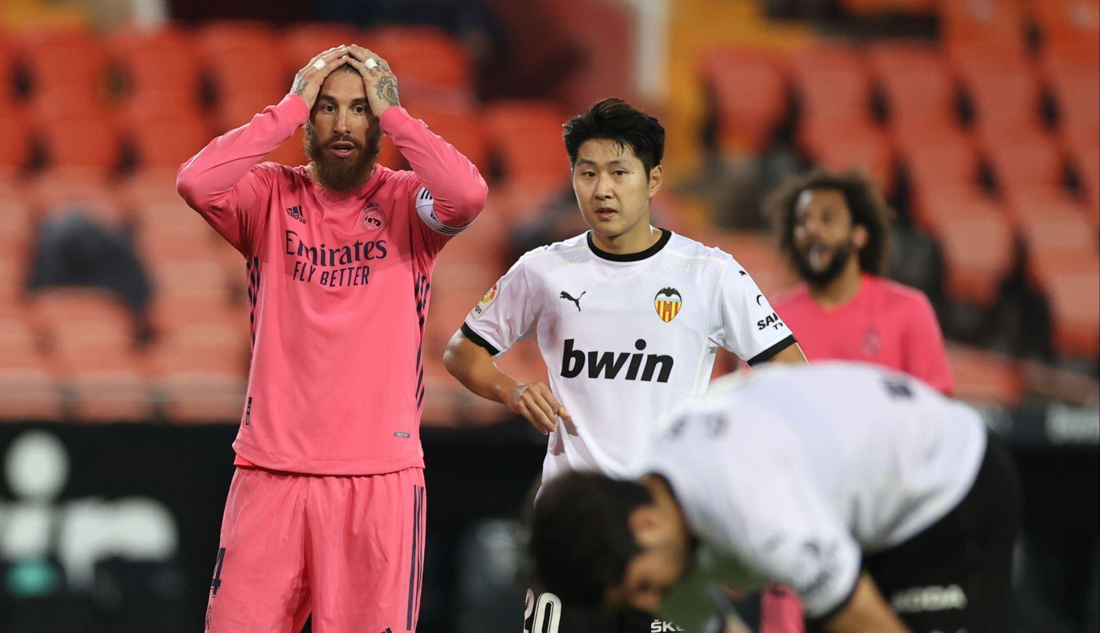 Video clip bàn thắng trận Valencia vs Real Madrid