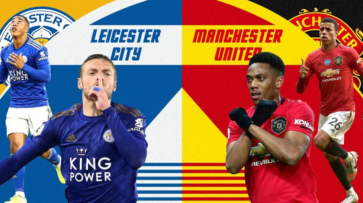 Lịch thi đấu ngoại hạng Anh vòng 15: Đại chiến Leicester City vs MU