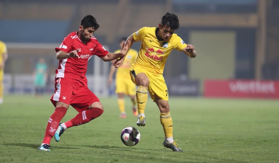 Bảng xếp hạng V-League 2021. BXH bóng đá Việt Nam mới nhất vòng 6