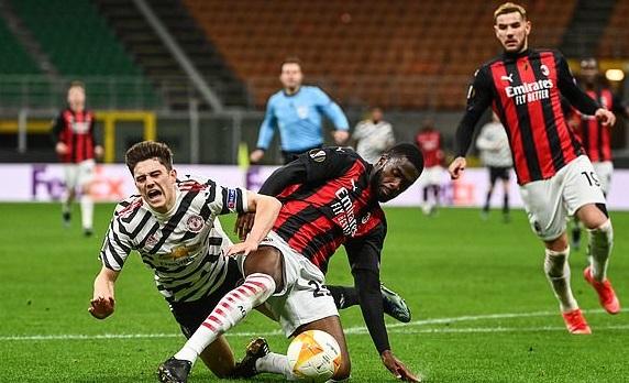 Kết quả Milan 0-1 MU, Kết quả lượt về vòng 1/8 Europa League,Kết quả MU đấu với Milan,Kết quảlượt về vòng 16 đội cúp C2 châu Âu, Kết quảbóng đá cúp C2/EuropaLeague