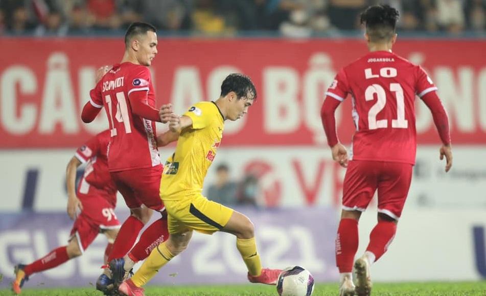 Lịch thi đấu và trực tiếp bóng đá LS V-League 2021 vòng 9: HAGL vs Nam Định