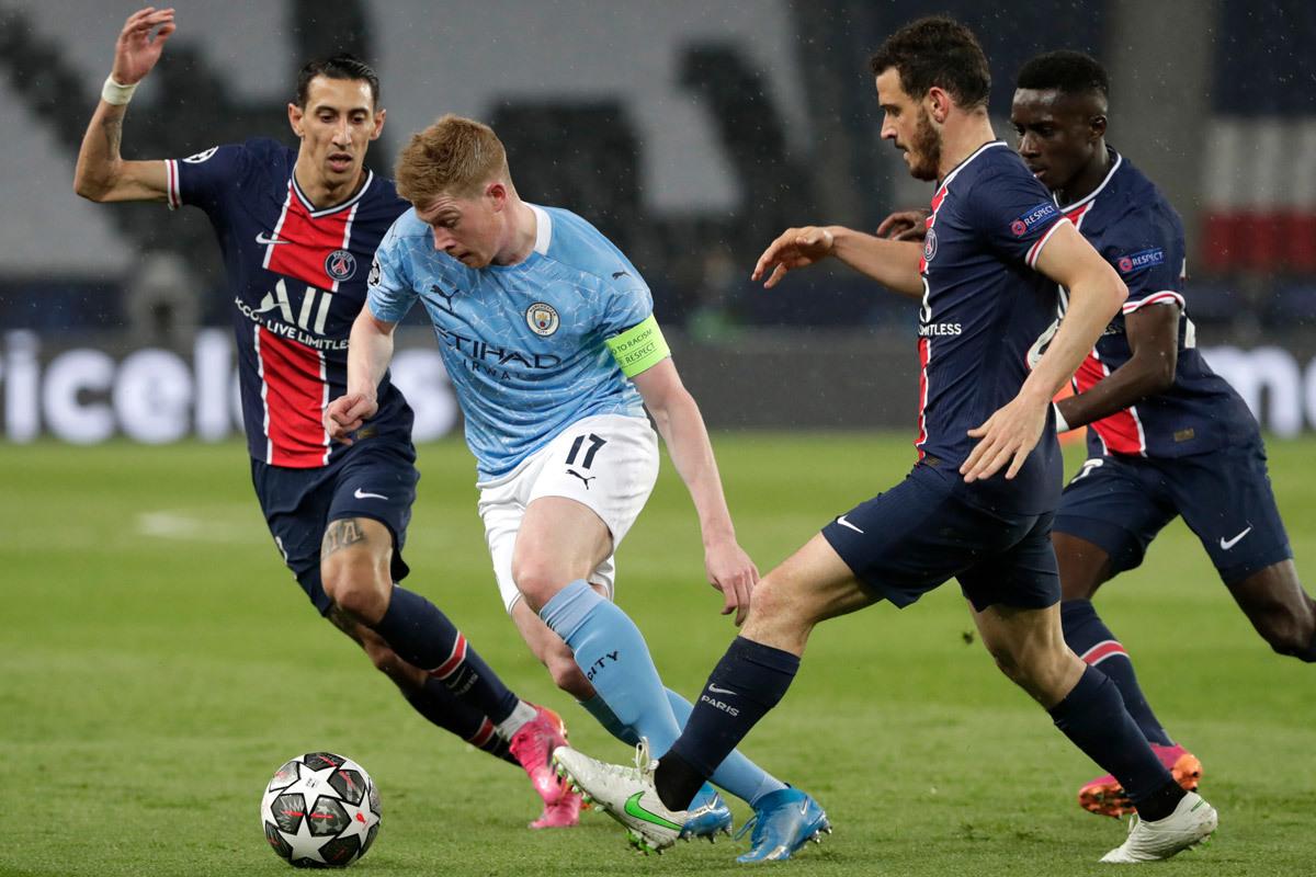 Kết quả bán kết lượt vềcúp C1:Man City vs PSG. Kết quả Champions League