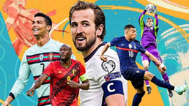 Lịch thi đấu EURO 2021. VTV6 VTV3 trực tiếp bóng đá hôm nay ngày 23/6/2021