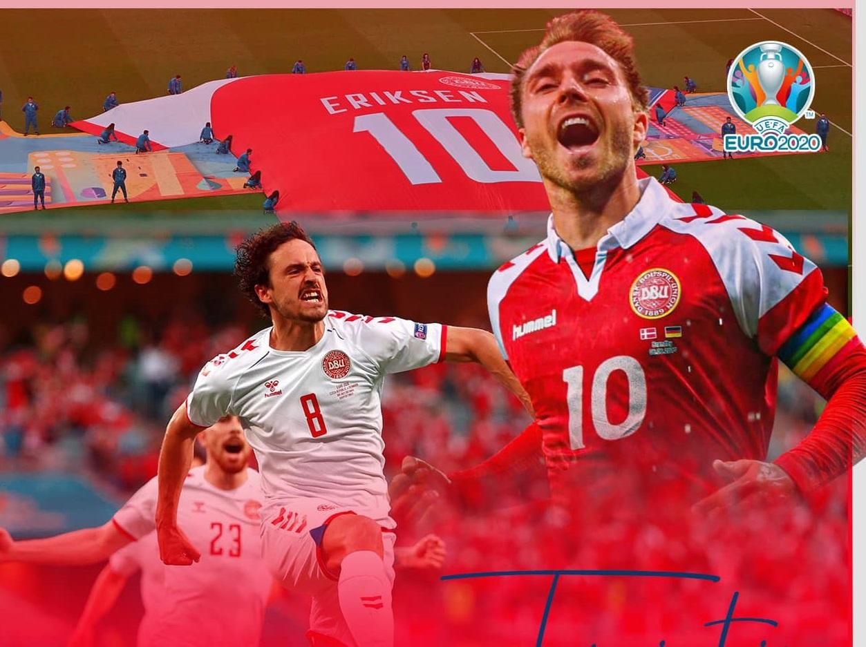 Đan Mạch vào tứ kết EURO 2021: Trái tim Eriksen