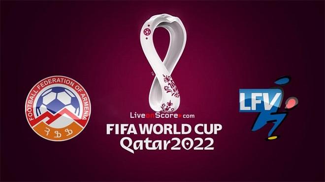 Bảng xếp hạng vòng loại World Cup 2022 khu vực châu Âu