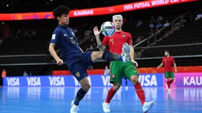 KẾT QUẢ bóng đá Futsal Solomon 4-9 Thái Lan, Futsal World Cup 2021 hôm nay