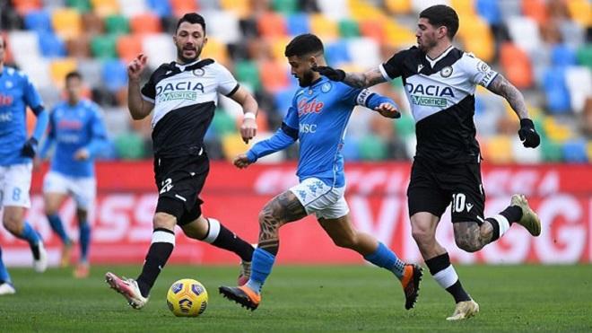 Soi kèo nhà cái Udinese vs Napoli và nhận định bóng đá Ý (1h45, 21/9)