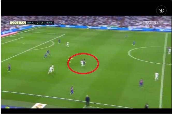 Marcelo Real Madrid 2-3 Barcelona