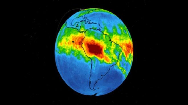 NASA công bố hình ảnh gây sốc về cháy rừng Amazon