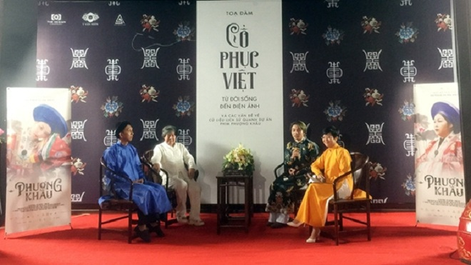 'Cổ phục Việt - từ đời sống đến điện ảnh'