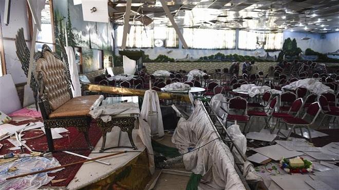 Tổng thống Afghanistan lên án vụ đánh bom liều chết nhằm vào đám cưới ở Kabul - IS nhận là thủ phạm vụ tấn công