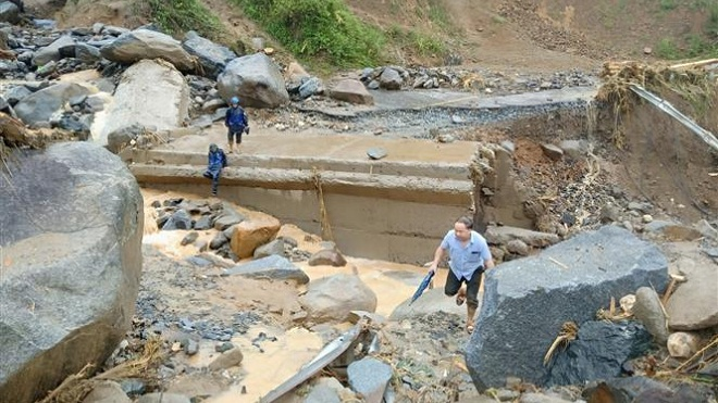 Các địa phương khẩn trương khắc phục hậu quả bão số 3