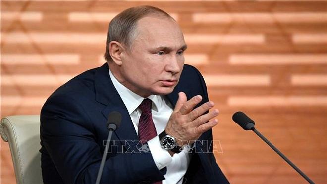 Tổng thống Nga Putin, Tổng thống Nga Putin họp báo cuối năm, Tổng thống Putin
