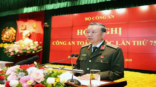 Bộ trưởng Bộ Công an Tô Lâm yêu cầu: Triệt xóa bằng được các băng, nhóm tội phạm