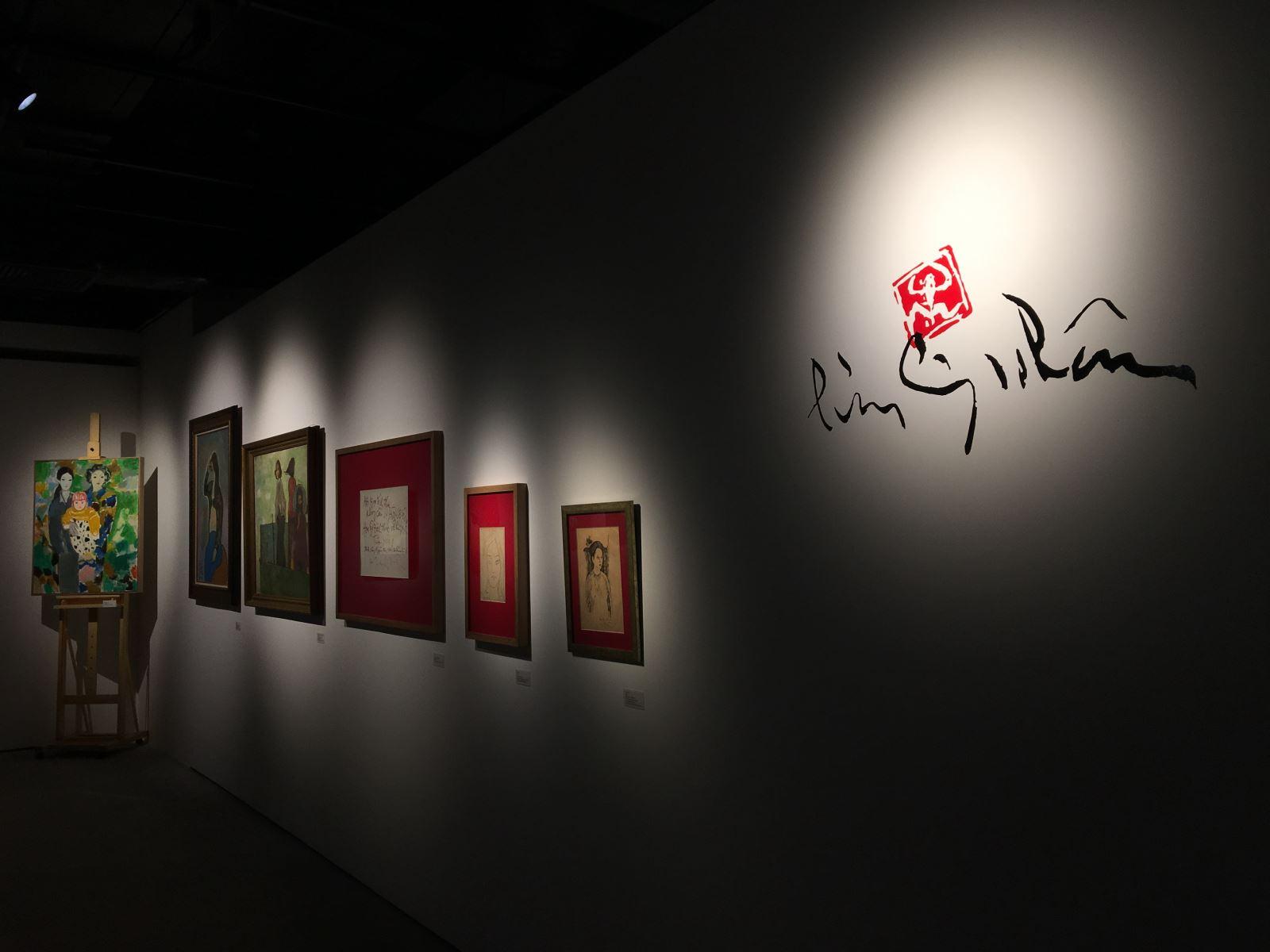 Chiêm ngưỡng bộ sưu tập tranh đồ sộ của Lưu Công Nhân