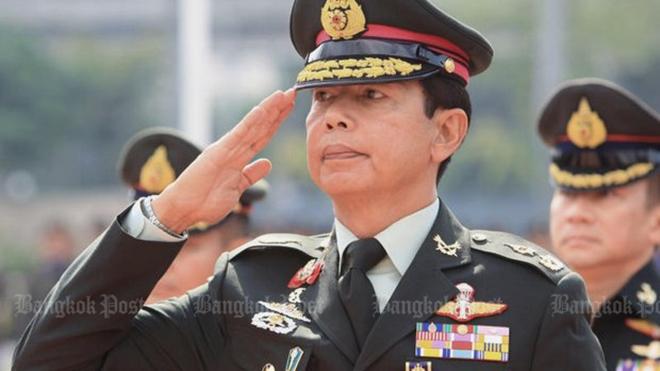 Trợ lý Tư lệnh Lục quân Hoàng gia Thái Lan được thăng cấp lên Tư lệnh Lục quân