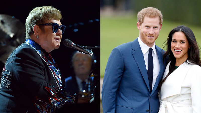 Chưa được mời, Elton John đã dời show để dự đám cưới hoàng tử Harry?