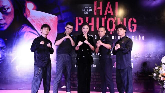 Dàn sao tề tựu mừng ra mắt phim 'Hai Phượng' của Ngô Thanh Vân tại Hà Nội